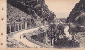 EL KANTARA, Dans les Gorges, Porte du Desert et Pont Romain, Biskra, Algeria,...
