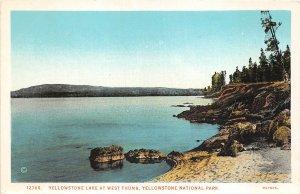 br106230 yellowstone lake at west thumb yellowstone national park