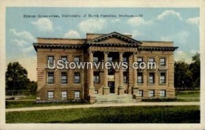 University of North Carolina in Durham, North Carolina
