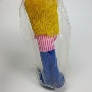 Vintage Super Toys Pluff's Blonde Doll Pink Ohio License Guitar