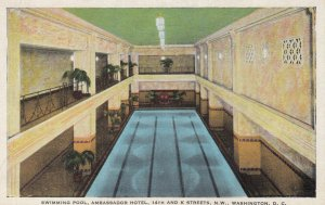 WASHINGTON , D.C. , 1930-40s ; Swimming Pool , Ambassador Hotel