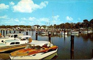 Florida Dunedin Marina On St Joseph's Sound