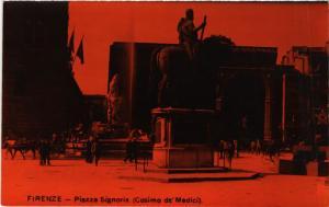 CPA FIRENZE Piazza Signoria . ITALY (492016)