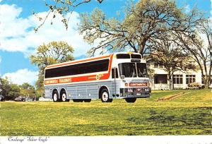 Closeout Continental Trailways, Silver Eagle Unused
