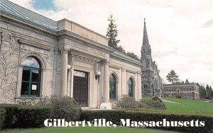 Public Library, Trinitarian Congregational Church Gilbertville, Massachusetts...