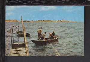 Fishing Peggy's Cove,NS,Canada Postcard BIN