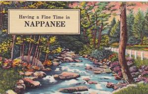 Indiana Nappanee Having A Fine Time In Nappanee 1957