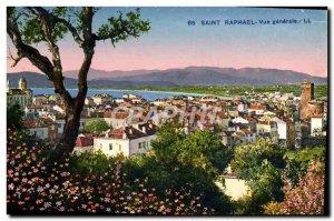 Postcard Old Saint Raphael Vue Generale