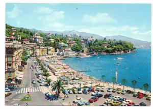Italy S Margherita Ligure Promenade Italian Riviera Postcard