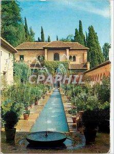Postcard Modern Granada Generalie Water Jets Court of Laugh