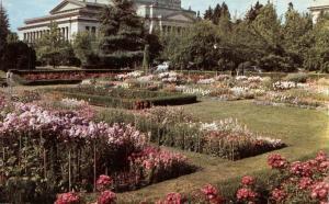 State Capitol Sunken Gardens - Olympia WA, Washington