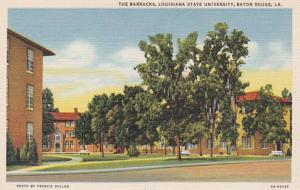 Louisiana Baton Rouge The Barracks Louisiana State University Curteich