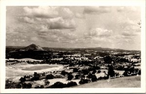 Real Photo Postcard Overview of Jackson, California~134965