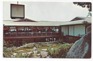 Suffern NY Motel Restaurant on the Mountain Rte 17 Postcard