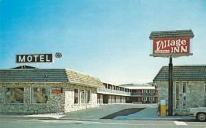 Arlington Oregon Village Inn Motel Restaurant Vintage Postcard J62065