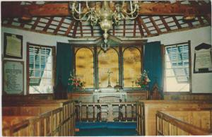 Interior View, St. Peter's Church, St. George, Bermuda