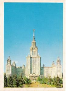 Russia Moscow Building Scene