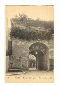 La Porte Saint-Louis, Vue Interieur, Dinan (Côtes-d'Armor), France, 1900-1910s