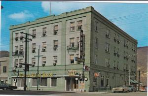Classic Car, Crown Point Hotel, Silver City, Trail, British Columbia, Canada,...