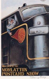 11400 Morlatton Postcard Show 1989, Sherry Kemp Signed