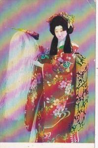 Japan Yaegaki Hime Kabuki Dance
