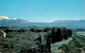 Iceland Thingvellir Plain Of The Parliament