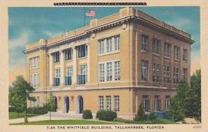 Florida Tallahassee The Whitfield Building