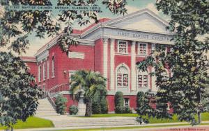 First Baptist Church, DOTHAN, Alabama, 1930-1940s
