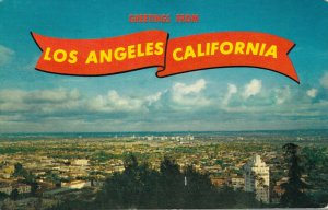 USA Greetings from Los Angeles California 03.87