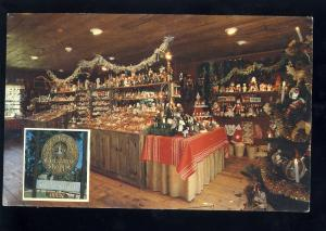 East Haddam, Connecticut/CT/Conn Postcard, Ye Old Fashioned Christmas Shoppe