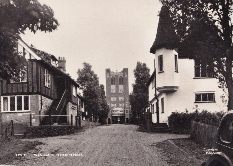 Westgate Thorpeness Essex Friths Vintage Real Photo Postcard