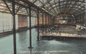 SAN FRANCISCO, California, 1900-10s ; Sutro Baths , interior