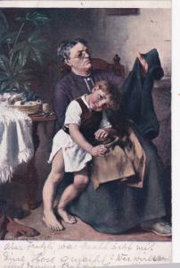 Knut EKWADLL: Grndmother sews boy's pants , 00-10s