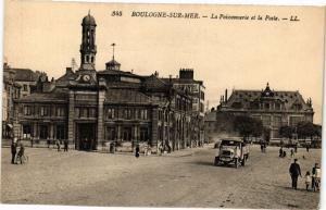 CPA BOULOGNE-sur-MER - La Poissonnerie et la Poste (240101)