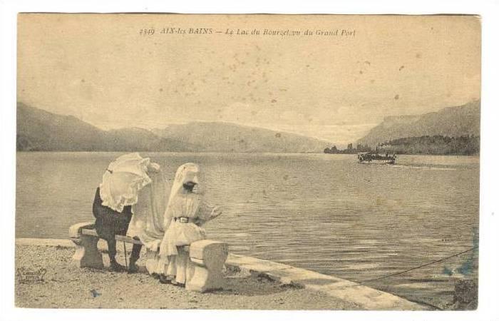 Le Lac Du Bourget Vu Du Grand Port, Aix-Les-Bains (Savoie), France, 1900-1910s