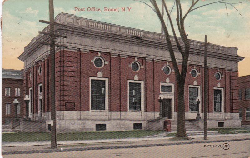 ROME , New York , 1910 ; Post Office
