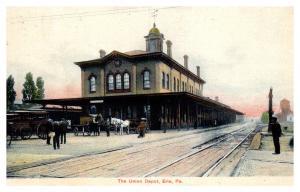 Pennsylvania  Erie,The Union Depot