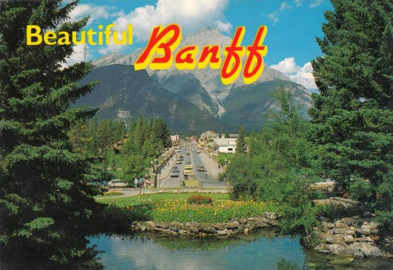 BR4976 Banff and cascade Mountain    Montreal    2 scans