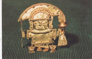Gold Ear ornament , Nazca , Peru , 40-50s
