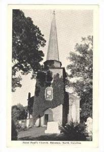 Saint Paul's Church, Edenton, North Carolina, 1920-30s
