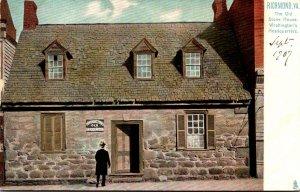Virginia Richmond The Old Stone House Washington's Headquarters Tucks