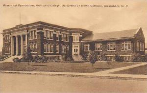 Rosenthal Gymnasium, Woman's College, University of North Carolina, Greensbor...