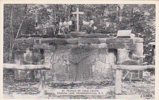 North Carolina Hendersonville St Francis Of Assisi Chapel Kanuga Lake