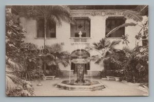 Patio Courtyard Pan American Union Building Fountain Washington D.C. Postcard