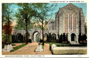 Pennsylvania Valley Forge Washington Memorial Chapel 1926 Curteich