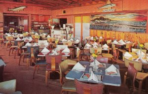 JOHN'S PASS , Florida , 1950-60s ; The Kingfish Restaurant , Interior