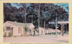 Florida JacksonvilleStokes Motor Court Dexter Press