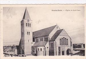Belgium Knokke Zoute L'Eglise du Sacre Coeur 1936