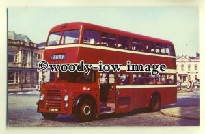tm5494 - Ramsbottom Corporation Bus no 5 to Bury - postcard