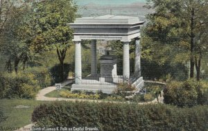 NASHVILLE, Tennessee, 00-10s; Tomb of James K. Polk on Capitol Grounds, TUCK